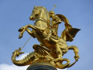San Jorge dragón Georgia