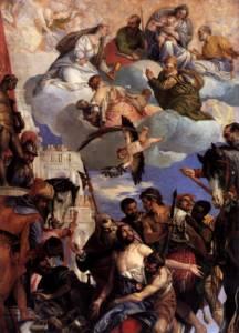 San Jorge martirio Veronese