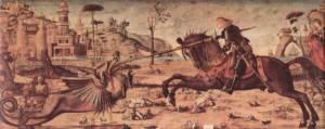 San Jorge dragón Carpaccio
