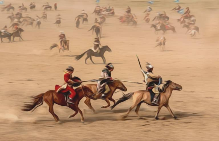 Tribu kitanna caballos